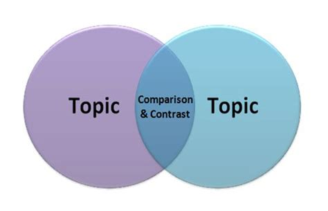 Compare and contrast essay outline structure